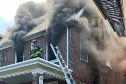 Extension cords powering large appliances will overheat and ignite, said fire officials. (Courtesy DC Fire and EMS)
