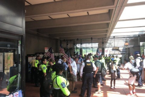 White nationalists ride private Metro car to DC