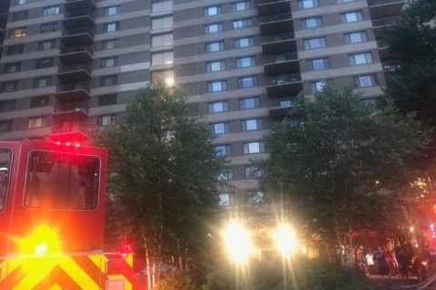No injuries in Montgomery Co. high-rise fire