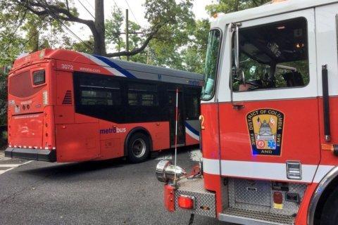 Metrobus hits woman, girl in Northwest DC