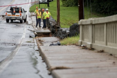 Evacuation lifted as water levels go down at Virginia dam