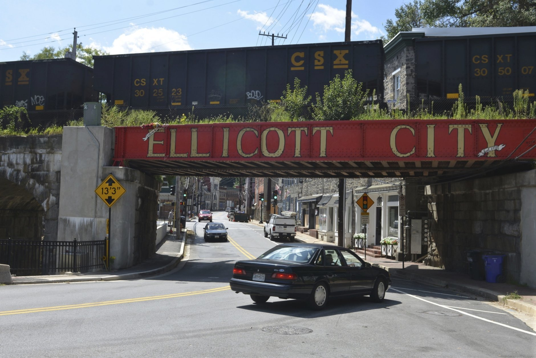 Howard County's Council will vote on a plan that would include tearing down 10 buildings on Main Street to try to minimize future flood damage. (AP Photo/David McFadden, file)
