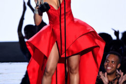 Cardi B performs onstage during the 2018 MTV Video Music Awards at Radio City Music Hall on August 20, 2018 in New York City.