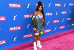 NEW YORK, NY - AUGUST 20:  Jessie Reyez attends the 2018 MTV Video Music Awards at Radio City Music Hall on August 20, 2018 in New York City.  (Photo by Nicholas Hunt/Getty Images for MTV)