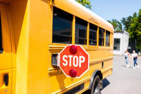 Md. officials deliver road safety reminder before school starts next week