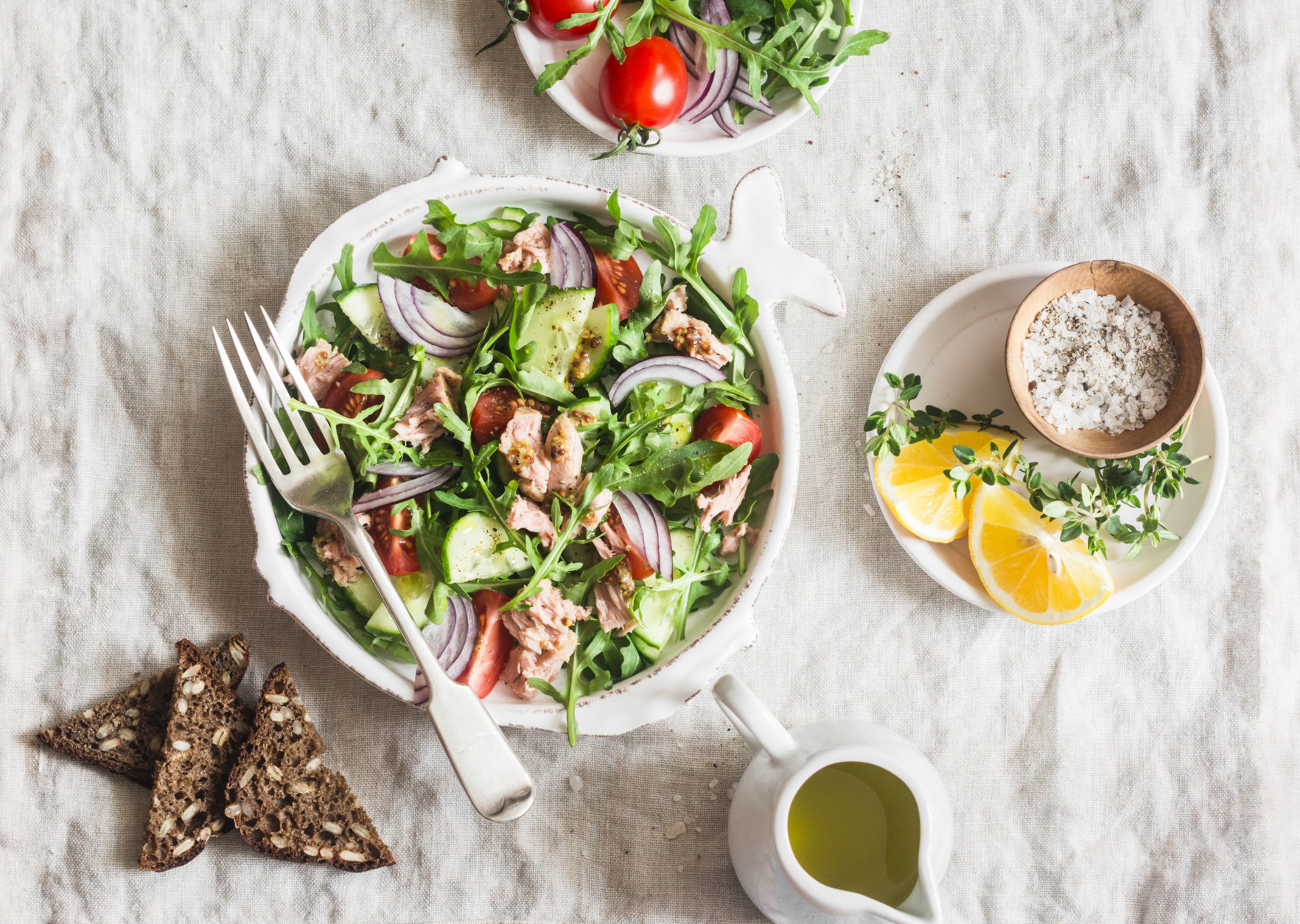 Both the Mediterranean and DASH diets are consistently ranked at the top of U.S. News and World Report's annual diet rankings. (Getty Images)