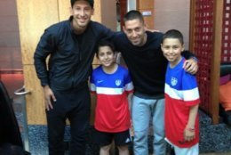Soccer-loving Mathias Giordano, right, died after a 2-year battle with bone cancer at age 13. His family created a foundation in his honor, that spreads awareness and provides D.C. United tickets to families dealing with childhood cancer.(Courtesy Roya Giordano )