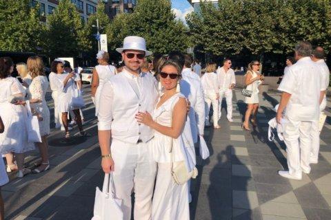 Fifth DC 'Diner en Blanc' takes over Nats Park