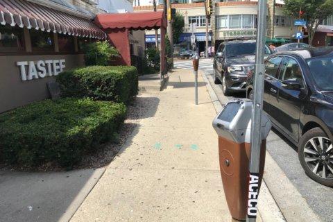 Parking improves outside Bethesda's Tastee Diner