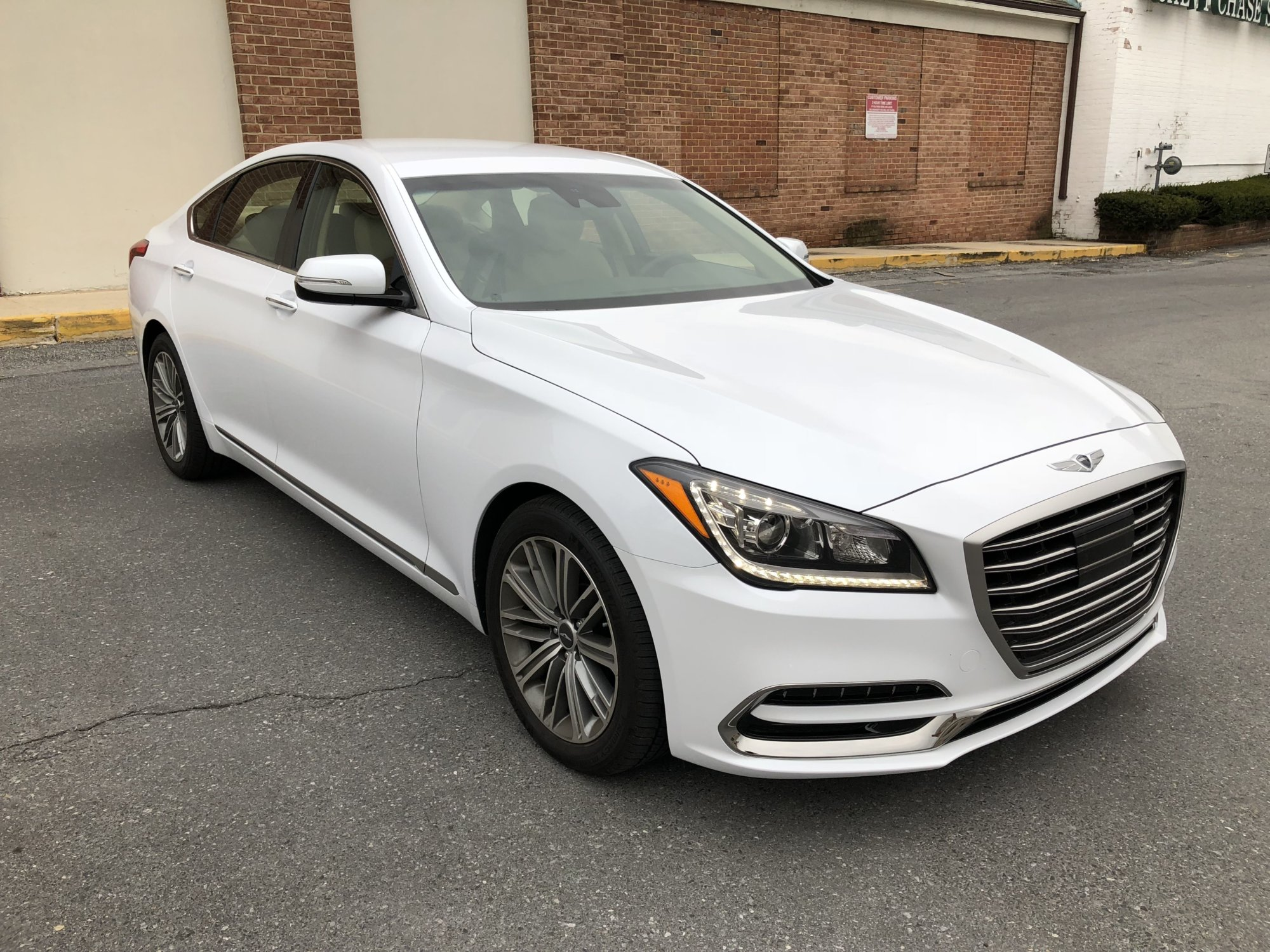 Car Review Genesis G80 3 8 Is A Calm Midsize Luxury
