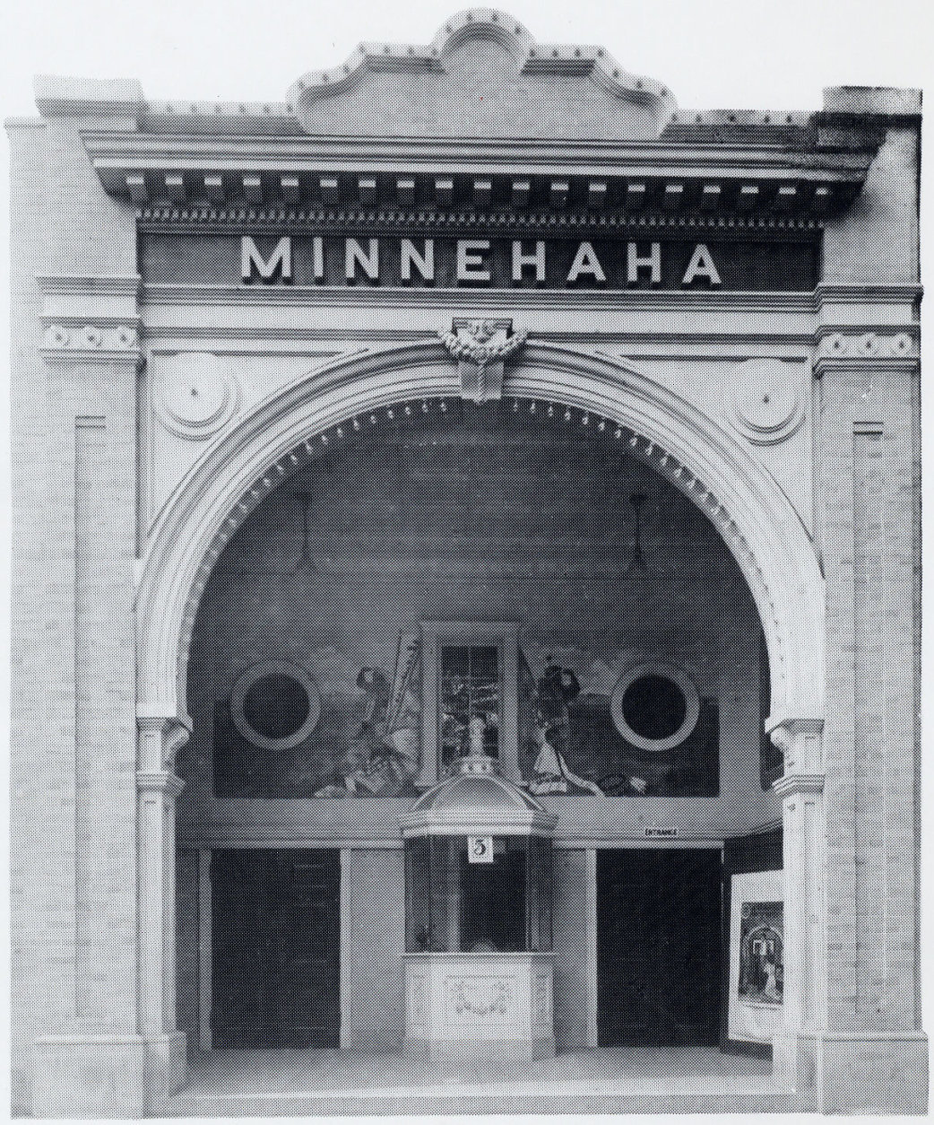 Ben's was a pool hall before the Alis opened their restaurent; before that, it was a silent movie theatre called the Minnehaha, built in 1922. (Courtesy of Ben's Chili Bowl)