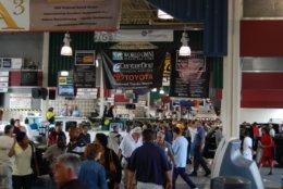 The Manheim facility has 36 auction lanes over more than 400 acres. (Courtesy Manheim)