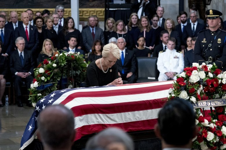Barack Obama Eulogy at John McCain Funeral
