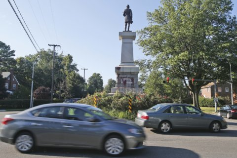 Police say Confederate monument in Richmond vandalized
