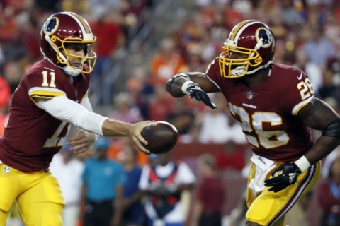 Redskins hope Smith, Peterson can lead them back to playoffs