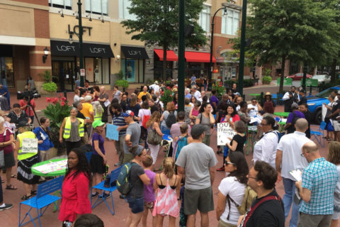 Protest demands justice, changes after police-involved fatal shooting in Silver Spring
