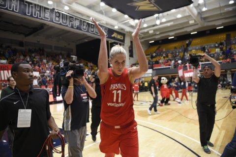 Elena Delle Donne scores 18, Mystics beat Dream 96-75