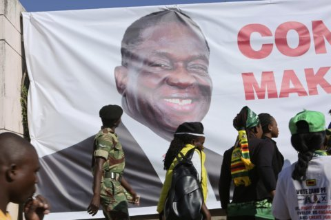 The Latest: Zimbabwe leader to launch inquiry into violence