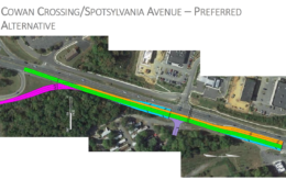 VDOT, the City of Fredericksburg and the Fredericksburg Area Metropolitan Planning Organization are among those involved in the ongoing process to prioritize the proposed projects, none of which are funded at this point. A public meeting on the proposals was held Monday. (Courtesy of VDOT)