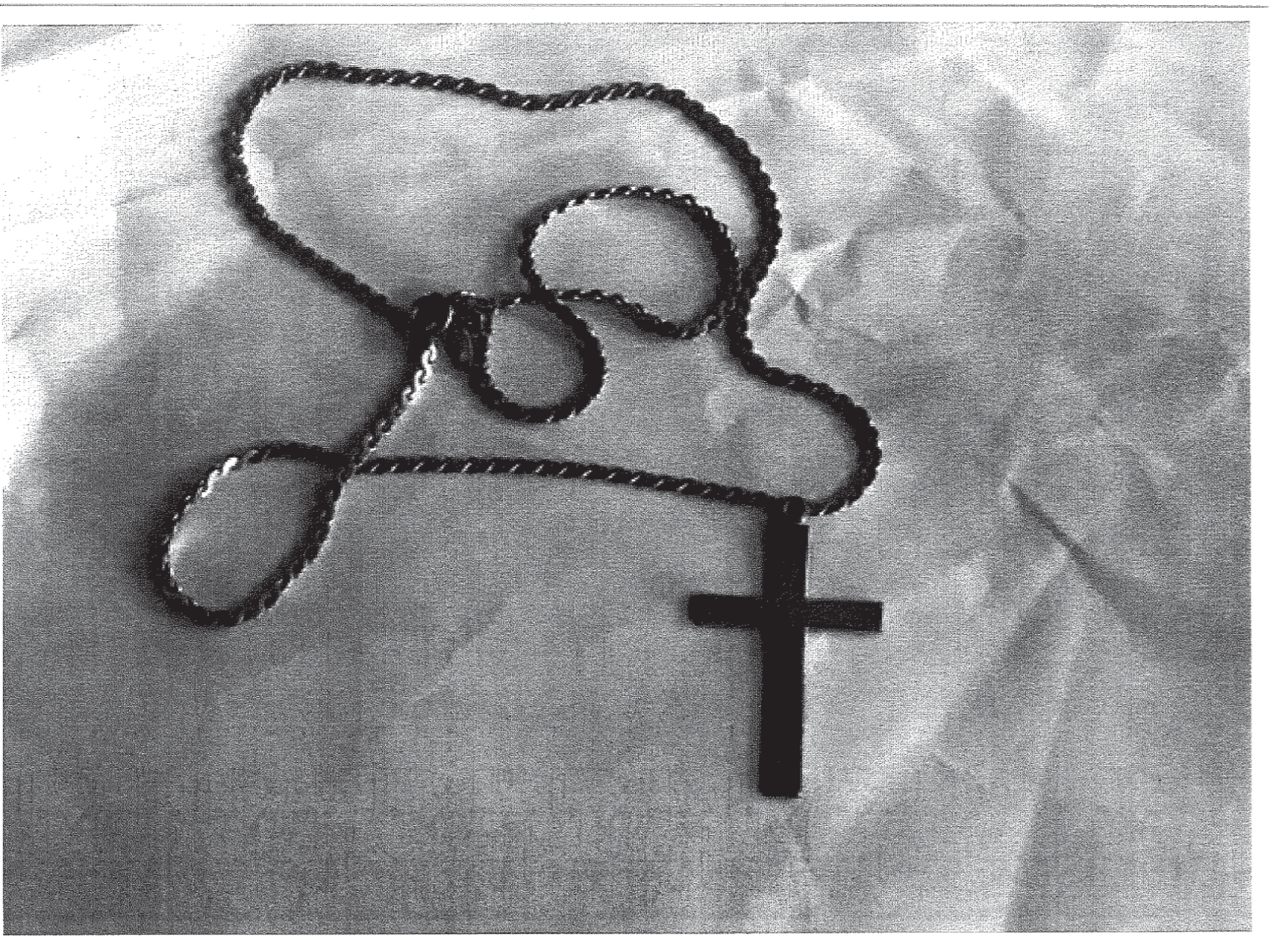 Cross necklaces given to victims by Pittsburgh diocese priests marked them for other predators in the church. (Courtesy Pennsylvania attorney general)