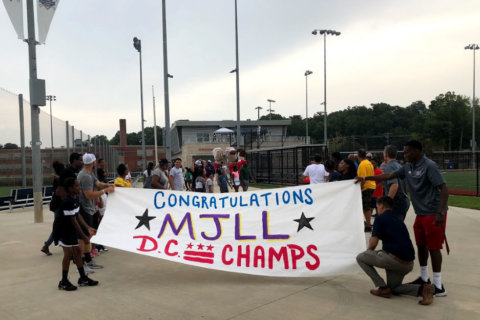 'These are our boys': DC's Little League heroes celebrated