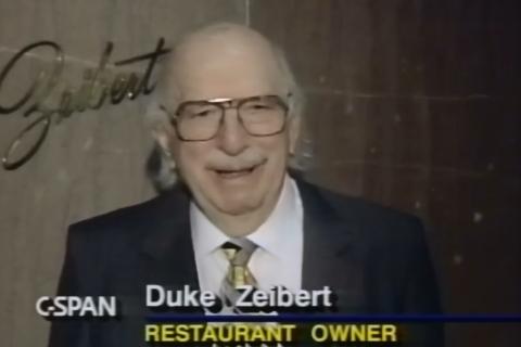 Duke Zeibert's: The retirement, the return … and no reprise