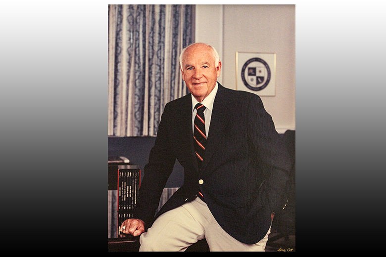"""Roland """"Fish"""" Powell served as mayor of Ocean City, Maryland from 1985 to 1996. He died at the age of 89 on Aug. 29, 2018. (Courtesy Ocean City government)"""