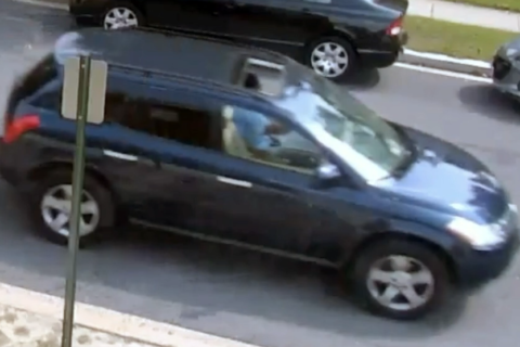 Surveillance video released in search for driver who threatened crossing guard