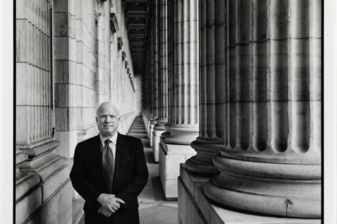 Photo capturing McCain in quiet moment now on display at National Portrait Gallery
