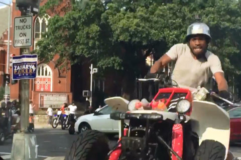 Large groups of ATVs, dirtbikes cause chaos on DC streets