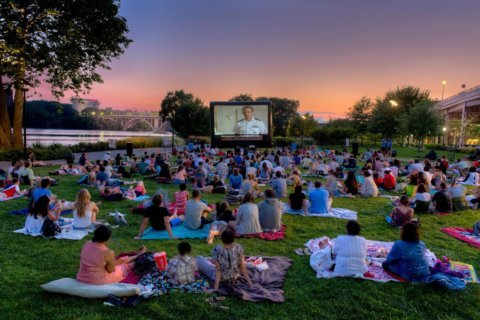 Chills are multiplying! Sunset Cinema screens 'Grease' free in Georgetown