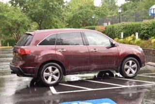 Tavera's 2013 Acura MDX was located in the 9000 block of South Park Circle in Fairfax Station on Monday, July 30. (Courtesy Fairfax County police)