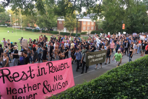 PHOTOS: Student-led protest 'Rally for Justice' criticizes U.Va., police