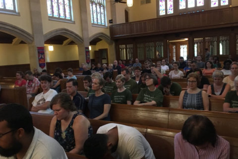 Ahead of DC protests, church takes mindful response to hate