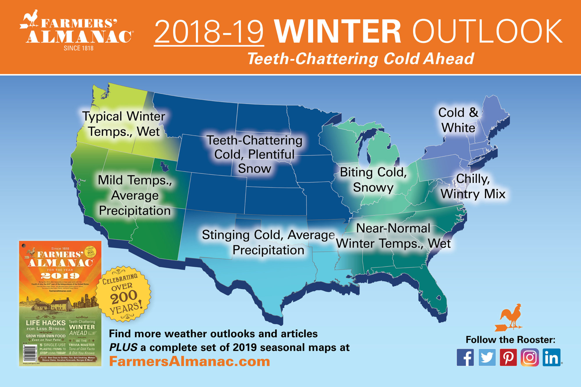 Farmers Almanac Predicts Teeth Chattering Winter But Could Be Bunk Wtop