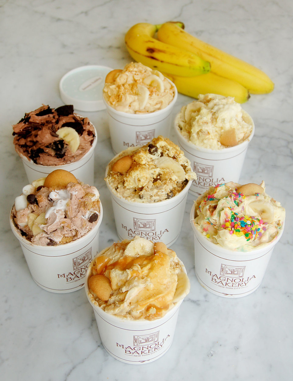 Magnolia Bakery's Union Station store will feature its cupcakes, as well as other customer favorites including banana pudding with vanilla wafer and fresh bananas, red velvet cake, key lime cheesecake and sea salt caramel cookies. (Courtesy Magnolia Bakery)