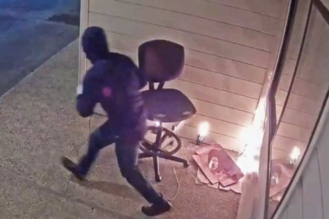 Arsonist caught on video setting fire to Planned Parenthood building in California