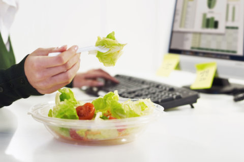 Lunch 'hour'? How much time do you take for lunch?