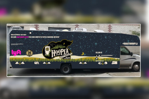 Run-up to Va. music festival includes free Lyft rides and chance to camp in 'Hoopla Mobile'