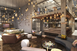 Jobs Moxy DC will fill include bartenders, baristas, servers, housekeepers and front desk staff. (Courtesy Moxy DC)