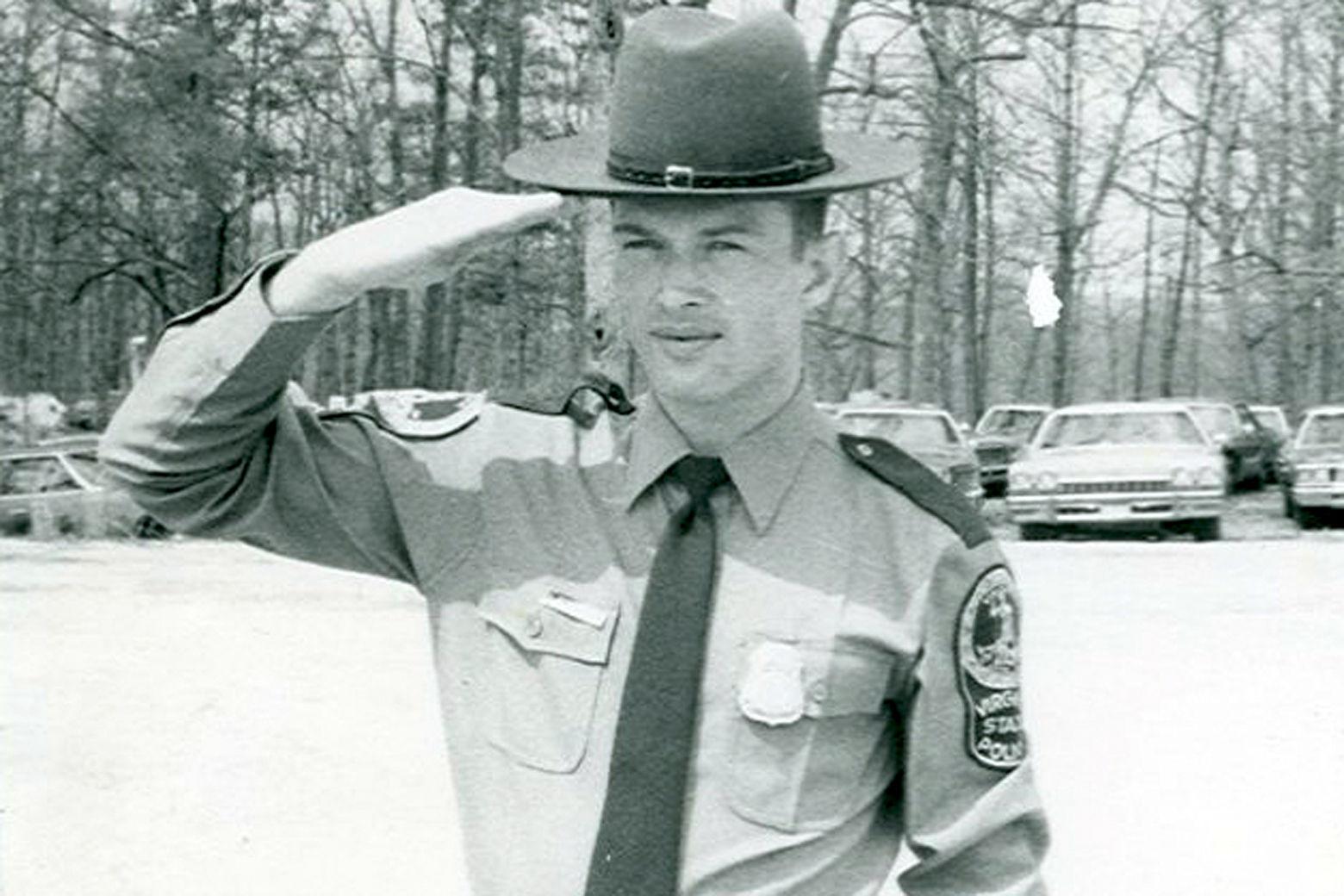 Undated photo of Virginia State Trooper Johnny Rush Bowman. (Courtesy FBI)