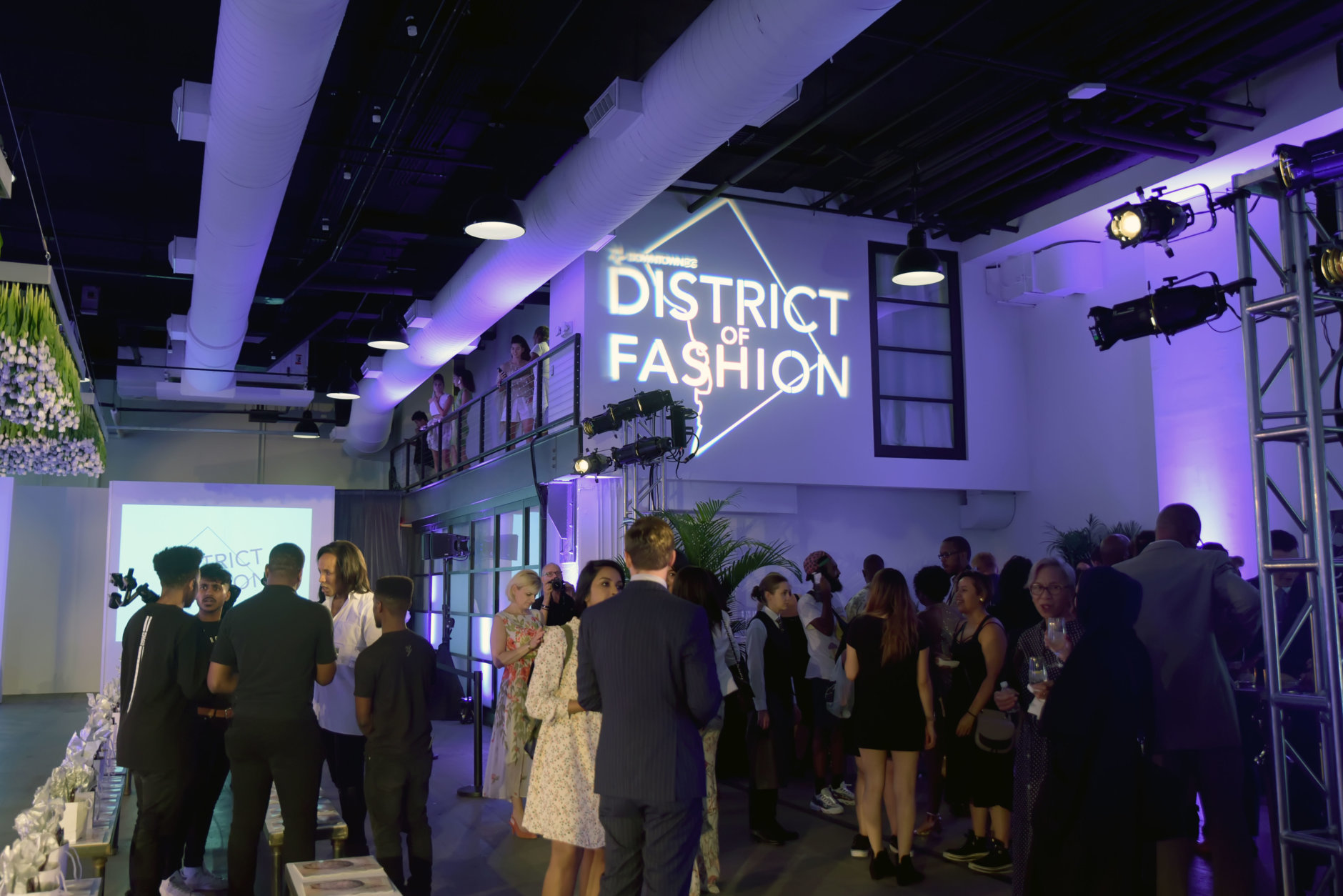 "With New York Fashion Week officially started, D.C. held the city's kickoff event at The Showroom event space in downtown D.C. (Courtesy Shannon Finney/<a href=""https://www.shannonfinneyphotography.com/index"" target=""_blank"" rel=""noopener noreferrer"">shannonfinneyphotography.com</a>)"