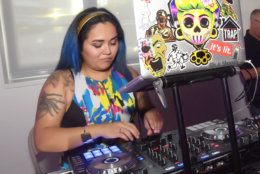 "DJ Yani entertains the guests at the District of Fashion runway show. (Courtesy Shannon Finney/<a href=""https://www.shannonfinneyphotography.com/index"" target=""_blank"" rel=""noopener noreferrer"">shannonfinneyphotography.com</a>)"