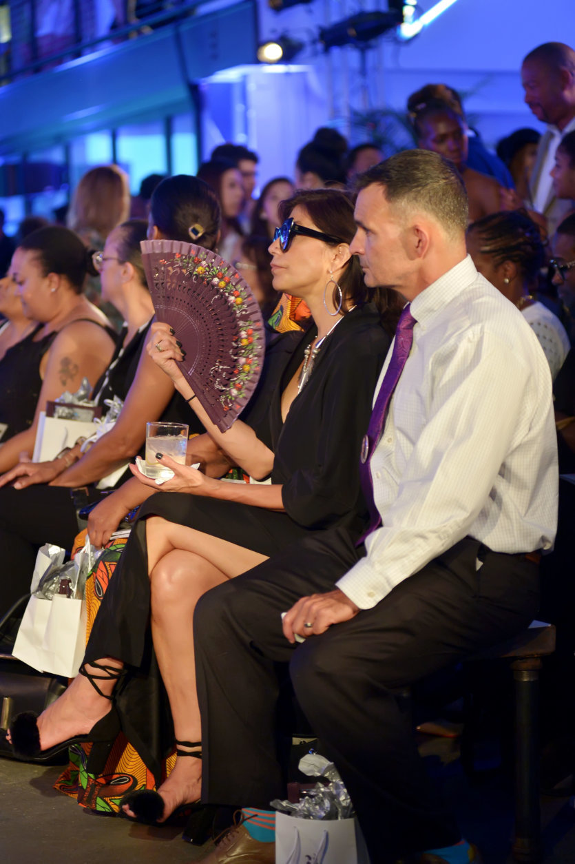 """One of the stylish guests attending the District of Fashion runway show. (Courtesy Shannon Finney/<a href=""""https://www.shannonfinneyphotography.com/index"""" target=""""_blank"""" rel=""""noopener noreferrer"""">shannonfinneyphotography.com</a>)"""
