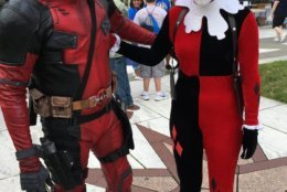 Cosplayers came out to CureFest to bring smiles to the faces of participants. (WTOP/Liz Anderson)