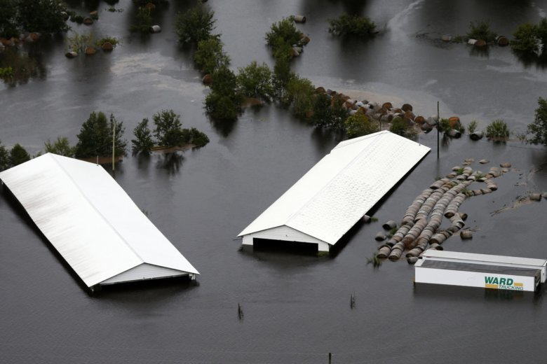 Water will haunt Carolinas after Florence — WHAT'S HAPPENING