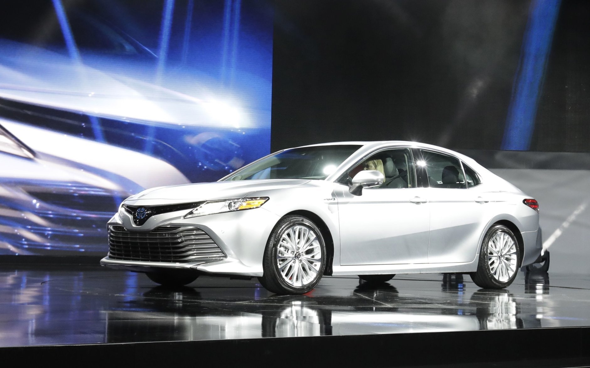 The 2017 model of the Toyota Camry saw 1,100 thefts in 2017. (AP Photo/Carlos Osorio, File)