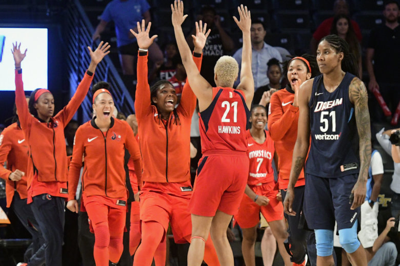 Elena Delle Donne, Mystics 'not finished yet' entering WNBA Finals