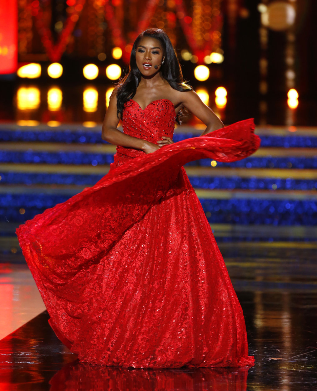 afa304462ed6 New Miss America glad she didn't have to don swimsuit to win   WTOP