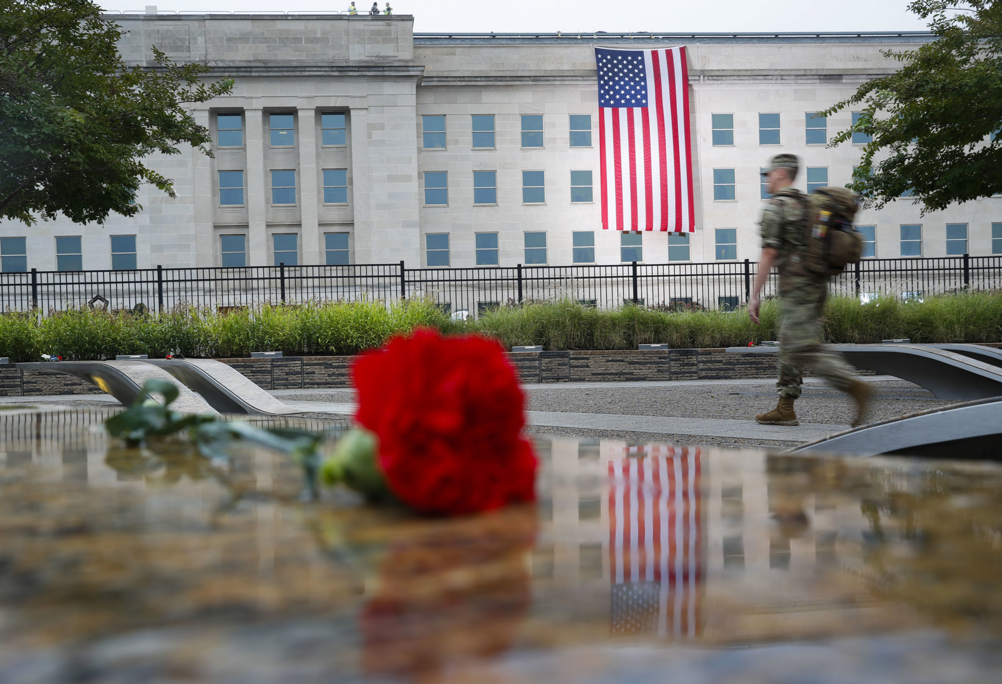 PHOTOS: US remembers Sept. 11